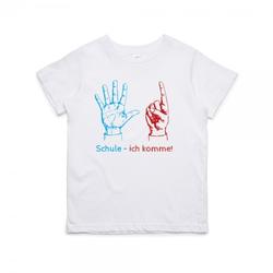 """Kinder T- Shirt zum 6.Geburtstag """"Schule, Ich komme"""""""