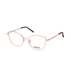DKNY DK 1017 770, inkl. Gläser, Cat Eye Brille, Damen
