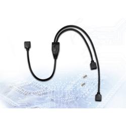InterTech RGB Verteiler, Y-Kabel, 2 fach