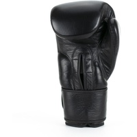 Super Pro Boxhandschuhe schwarz 14 OZ