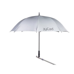 'JuCad Regenschirm Automatik silber'