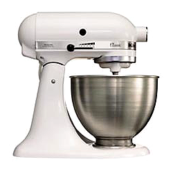 KitchenAid K45SS EWH 250W 4.28l Weiß Küchenmaschine