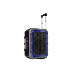 Auna Spencer Mobiler PA-Lautsprecher 60W BT wasserfest nach IPX4 schwarz/grau Portable-Lautsprecher
