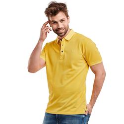 Poloshirt Engbers Rapsgelb