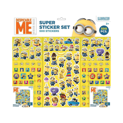 Minions Sticker Sticker Super-Pack Minions 500 Stck.