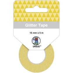 Glitter Tape 15mmx5m gold