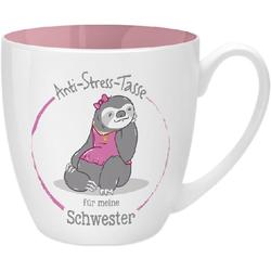 Anti-Stress Tasse für meine Schwester