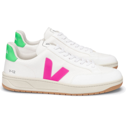 Veja - V12 BMesh White Sari Absinthe - Sneakers - Größe: 38