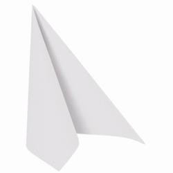 """Papstar """"ROYAL Collection"""" Servietten, 1/4-Falz, 33 x 33 cm, Hochwertige Premium-Servietten in Stoffoptik, 1 Karton = 5 Packungen á 50 Stück, weiß"""