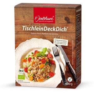 TischleinDeckDich 400g von P. Jentschura *Quinoa-Hirse-Mahlzeit mit Gemüse*vegan