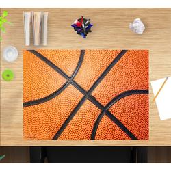 cover-your-desk.de Schreibtischaufsatz Schreibtischunterlage für Kinder – Basketball – 60 x 40 cm – aus hochwertigem Vinyl, (1-St)