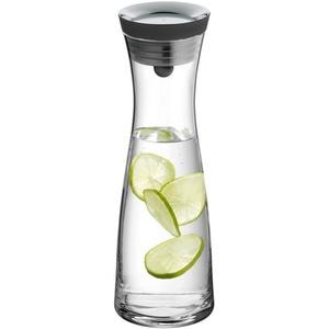 WMF Wasserkaraffe Basic, (1-tlg), mit Silikonrand, 1 Liter