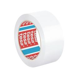tesa Klebeband 4195 Packband, UV-, alterungs- und temperaturbeständig weiß 5 cm x 6600 cm