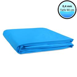 Poolfolie für Rundbecken 0,4 mm adriablau 350 x 90 cm
