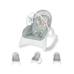 Lorelli Babywippe Babywippe und Stuhl ENJOY, mit Vibration, Musik, verstellbare Rückenlehne grün 50 cm x 63 cm x 66 cm