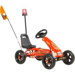 EXIT Go-Kart Foxy Fire, für Kinder von 2 bis 5 Jahre rot Kettcar Tretfahrzeug Kinderfahrzeuge