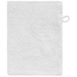 Dyckhoff Waschhandschuh ''Kristall'' Weiß 16 x 21 cm