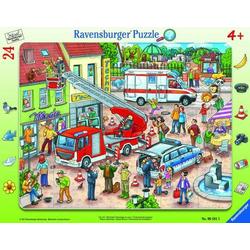 Ravensburger 06581 Rahmenpuzzle 110, 112 - Eilt herbei! 24 Teile 6581