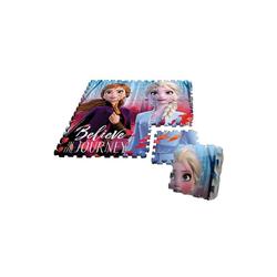 Disney Frozen Puzzlematte Die Eiskönigin 2 Spielmattenpuzzle, 9 Teile, Puzzleteile