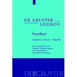 Poetiken - Buch