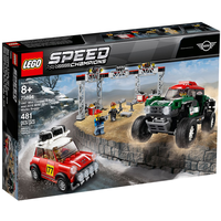 Lego Speed Champions Rallyeauto 1967 Mini Cooper S und Buggy 2018 Mini John Cooper Works 75894