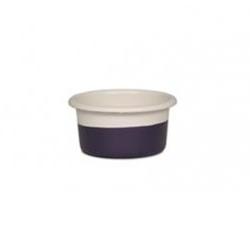 Riess Muffinform Creme/Pflaume Ø 8 cm H 4 cm