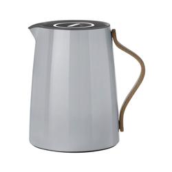 Stelton Isolierkanne Stelton Emma Isolierkanne für Tee 1 Liter grau