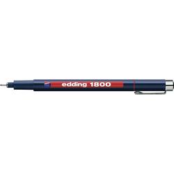 Edding 4-180005002 1800 Fineliner Rot 0.5mm