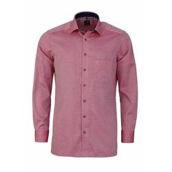 OLYMP Herren Freizeithemden rot, Größe 45, 4781718