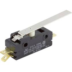ZF Mikroschalter E13-00H 250 V/AC 15A 1 x Ein/(Ein) tastend 1St.