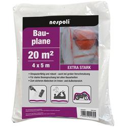 GO ON! Bauplane 4x5 m transl extra stark, 40 my