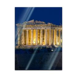 Bilderdepot24 Glasbild, Glasbild - Akropolis 40 cm x 60 cm