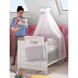 Kombi-Kinderbett SOPHIE(LF 70x140 cm)