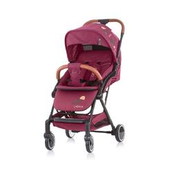 Chipolino Kinder-Buggy Kinderwagen, Buggy Oreo, bis 22 kg Schwenkräder vorne, 1-Hand Faltsystem rosa