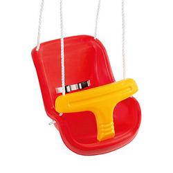 Idena Babyschaukel rot Kunststoff