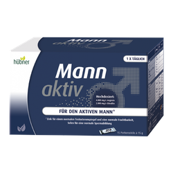 Hübner - Mann Aktiv - 15 Portionsstick à 15 g