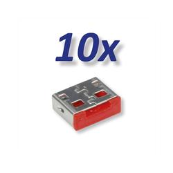 ROLINE 10x USB-A Schloss für 11.02.8330 Adapter