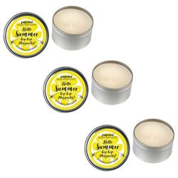 Pajoma 3x Duftkerze Kerze Candle in der Dose Anti-Mücke Anti Mücke - Citronella