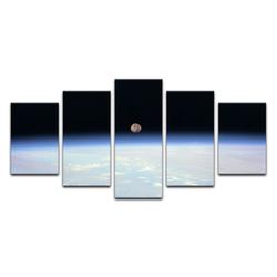 Bilderdepot24 Leinwandbild, Leinwandbild - Weltraum 100 cm x 50 cm