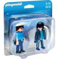Playmobil City Action Duo Pack Polizist und Langfinger (9218)