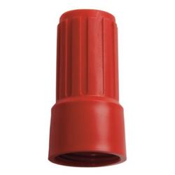 Haug Überwurfmutter für Adapter, Maße: 74 x Ø 38 mm, Farbe: rot
