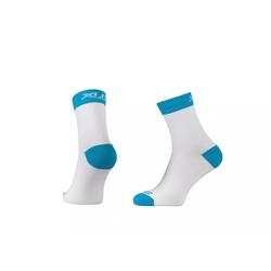 XLC Sportsocken XLC Race Kompressions Socke CS-C03 weiß blau Gr. 3