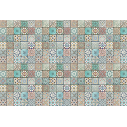 Architects Paper Fototapete Tiles Oriental, (Set, 4 St), mediterrane Fliesen, Vlies, glatt