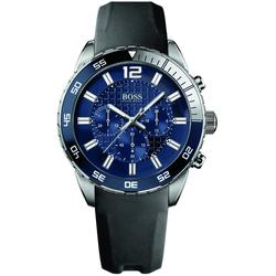 Boss Deep Blue Chrono 1512803 Sportliche Herrenuhr Sehr Sportlich