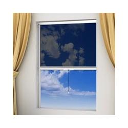 Wei?es Aufrollbares Insektengitter Fur Fenster 140 X 170 Cm