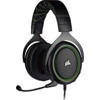 Corsair HS50 PRO Stereo Kopfhörer Kopfband 3,5-mm-Anschluss Schwarz, Grün