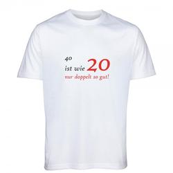 T-Shirt zum 40.Geburtstag