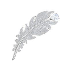 Swarovski Brosche NICE TALKING PIECE, 5495417, mit Swarovski® Kristallen