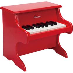 Hape Spielzeug-Musikinstrument Spielzeugklavier rot Ab 3-5 Jahren Altersempfehlung Spielzeug-Musikinstrumente