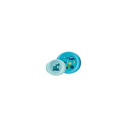 TELLERSET 2tlg.blau chicco 1 St